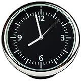 Txian Table Mini horloge de voiture à quartz Petite dotés de rond Horloge à quartz parfaite Décoration de voiture (40x 40x 40mm)