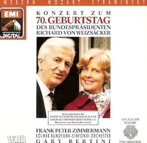 Konzert Zum 70. Geburtstag Des Bundespräsidenten V. Weizäcker