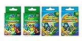 Kinderpflaster/Pflaster / Stripes für Kinder im Set - mit tollen bunten Motiven wählbar: Kunterbunt – Tiere – Cartoon – Abenteuer/für Jungen - Abenteuer