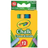 Crayola 281 Anti Dust Assorted Chalk