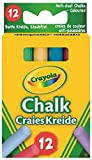 Crayola 281 Anti Dust Assorted Chalk