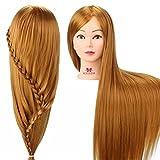 Frisierkopf übungskopf Neverland übungskopf Friseur Frisierkopf Mit Langen Haaren Puppenkopf Modell Kopf mannequin Kopf Synthetische Haare Mit halter