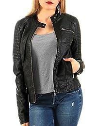 Only Onlready Faux Leather Jacket Cc Otw, Blouson Femme