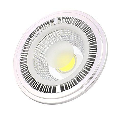 sourcingmap® AC 85-265V 5W 6000K GU10 2P Recessed COB LED