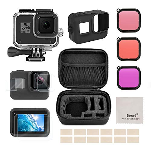 Deyard kit de accesorios para GoPro Hero 8 Black con funda a...
