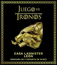 Juego de Tronos. Casa Lannister: león par  Varios autores