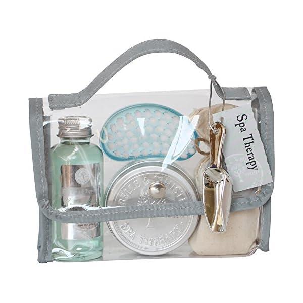 Gloss – caja de baño, caja de regalo para mujeres – Estuche de Baño Regalo – Spa Therapy – Eucalyptus