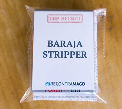 Recontramago Trucos de Magia Baraja Biselada Stripper