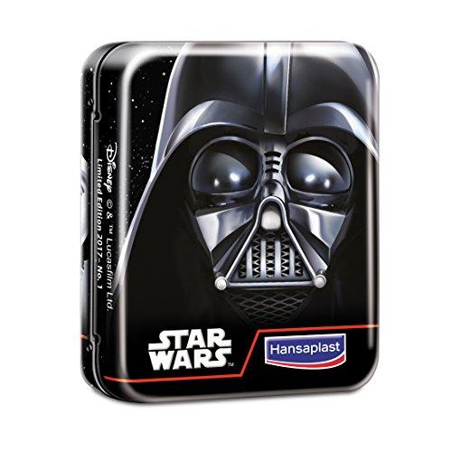 Hansaplast Star Wars Kinder Pflasterbox, Verschiedene Motive, Limitierte Edition, 2er Pack (2 x 16 Stück)