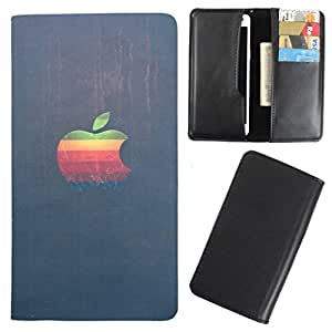DooDa - For Lenovo A269i PU Leather Designer Fashionable Fancy Case Cover Pouch With Card & Cash Slots & Smooth Inner Velvet