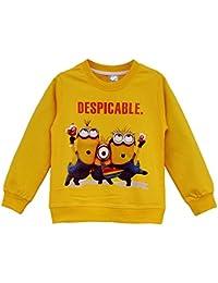 UUstar® Minions Kinder Langarmshirt Kollektion 2015 Sweater Pullover Sweatshirt für Mädchen Jungen