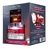 L'Oréal Paris Revitalift Laser X3 Routine Duo Gesichtspflegeset, intensive Anti-Aging Pflege, mildert Falten und sorgt für eine ebenmäßige Haut