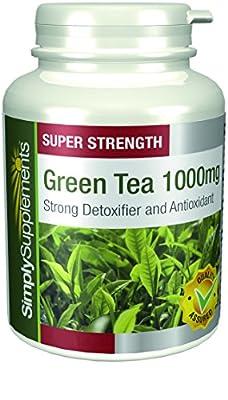 Thé Vert 1000mg | Favorise la santé générale | Antioxydant | 180+180 Gélules