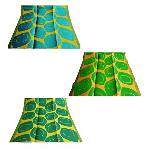 fatti a mano regalo molto opaco set con materiale penna pentola polipropilene foglia modello tappeto straccio grande piano tovaglietta verde di colore giallo di 2 pezzi set regalo di Natale di 3 pezzi