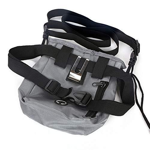 JOYIYUAN Hunde tragen Tragetasche Haustier Außentaschen multifunktionale Oxford Tuch Snack Tasche (Farbe, Size : 14cm*18cm)