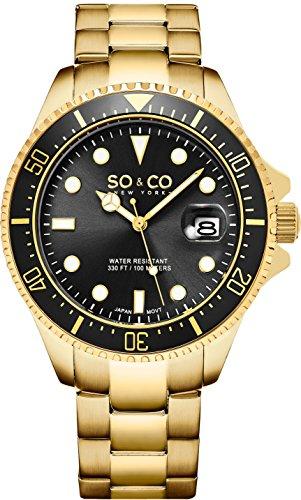 SO & CO New York Herren-Armbanduhr 5347.6