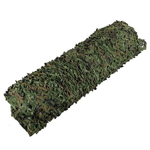 Jsmhh Sonnenschutznetz Air Defense Camouflage Jungle Greening Sicherheit ArmyGreen Theme Landschaftsbau, Größe anpassbar (Color : Green, Size : 6x7m)