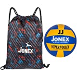 jonex Moulded Super Volleyball and String Bag Combo @Hipkoo
