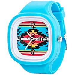 Flexwatches Aztec light blue
