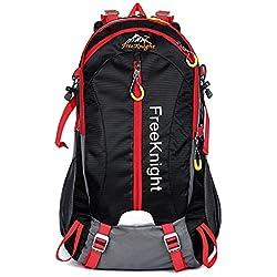 Impermeable Mochila de Senderismo Paquete del bolsos del alpinismo al aire Bolsas de viaje Camping Deporte Al Aire Libre3-Verde oscuro