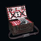 Cilio 155259 Varese picnic basket for 4 people