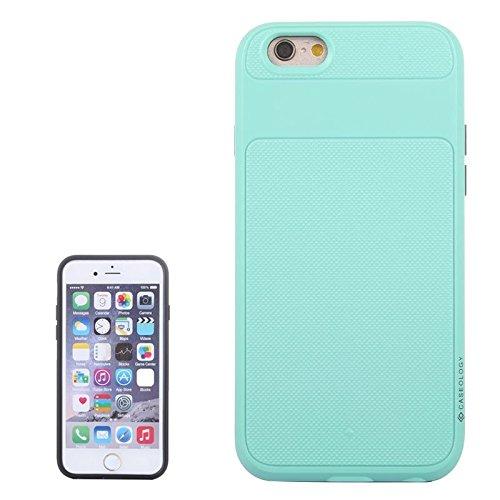 Phone case & Hülle Für IPhone 6 / 6s, Honeycomb Beschaffenheit Rüstung Schutzhülle ( Color : Green ) Green