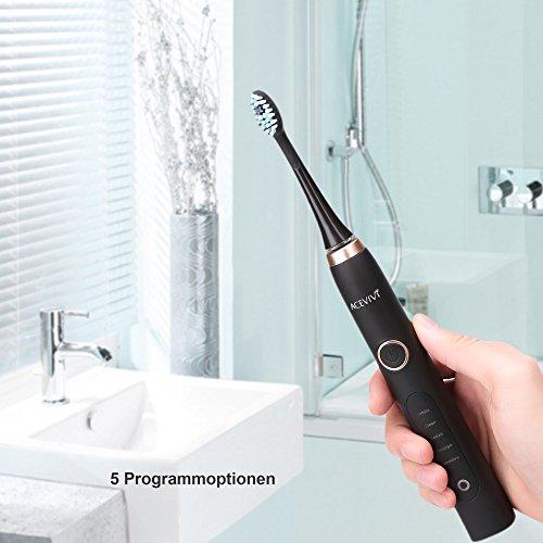 ACEVIVI S8 Elektrische Zahnbürste – Schallzahnbürste - 6