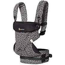(Renewed) Ergobaby 360 All Carry Positions Award Winning Ergonomic Baby Carrier Limited Keith Haring (Black)