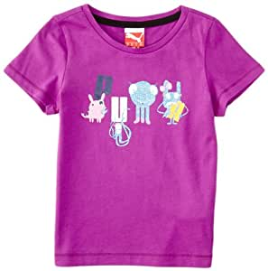 Puma FD School T-Shirt fille Grape FR : 24 mois (Taille Fabricant : 92)