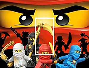 Lego ninjago sticker kinder kinderzimmer k che for Kinderzimmer ninjago