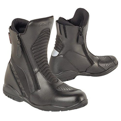 18405740/600 - Akito Scout Motorcycle Boots 40 Black (UK 6) Scout-ankle Boot