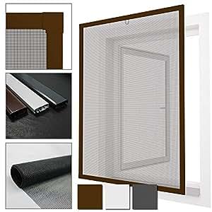 proheim insektenschutz fenster comfort fliegengitter mit alu rahmen sind k rzbar fliegenschutz. Black Bedroom Furniture Sets. Home Design Ideas