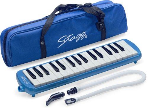 Stagg Melodica mit 32 Tönen, Farbe: Blau