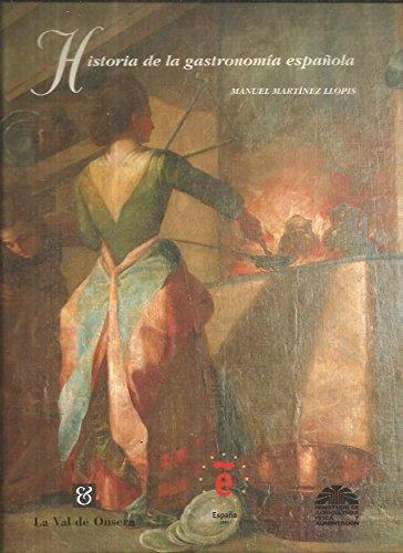 Descargar Libro Historia de la gastronomia española de Manuel Martinez Llopis