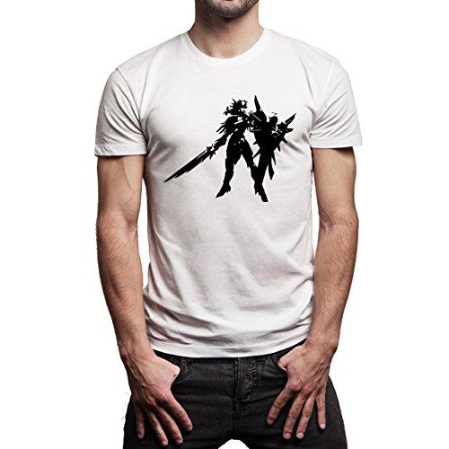League Of Legends Champion Character Art Ironsali Herren T-Shirt Weiß
