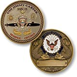 Navy USS Jimmy Carter SSN 23 Challenge Coin by Northwest Territorial Mint