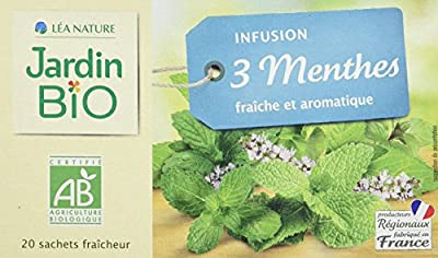 Jardin Bio Infusion 3 Menthes 30 g BIO - Lot de 4