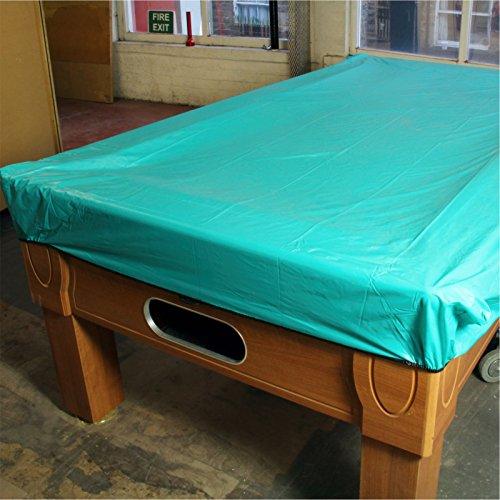 Aqua heavy gauge soft vinyl waterproof pool table cover for Pool table 6 x 3