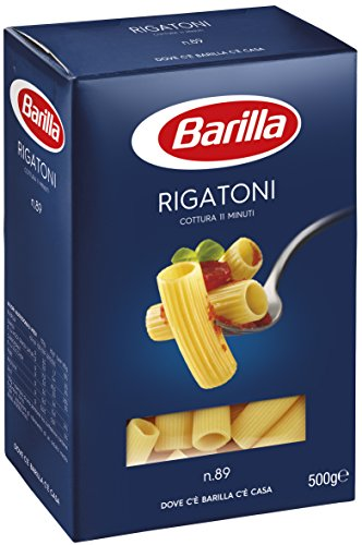 Barilla Pasta Nudeln Rigatoni n. 89, 500 g