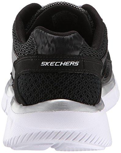 Skechers Equalizer Jungen Sneakers Schwarz (Bkw)