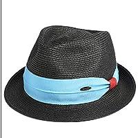 YQXR Moda Cupola Cappellini Cappello Estivo da Donna Cappello da Paglia  Cappello da Sole Protezione Solare 990788b95430