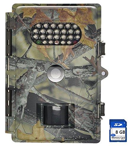 XIKEZAN 720P 8MP basso bagliore visione notturna con sensore di movimento a infrarossi veloce Trigger digitale game Trail Caccia fotocamera