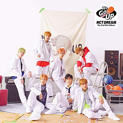 NCT Dream - We Go up (2nd Mini Album) CD+Booklet+Photocard+2Folded Posters+Free Gift