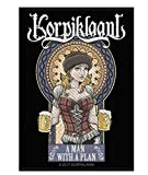 Korpiklaani A Man With A Plan Woven Patch