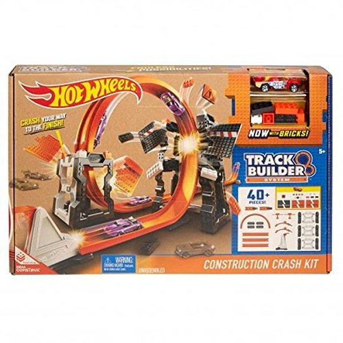 Mattel Hot Wheels DWW96 - Track Builder Mega Crashset