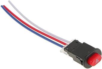 Electomania® Universal Motorcycle Headlight Spot Fog Turn Light Dual Flash Switch
