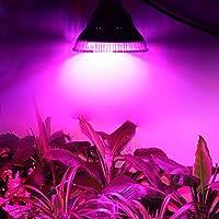 Greenenergy coltiva la lampada della luce di 12w LED (4blu e 8rosso), le luci per le piante Crescita, coltiva le luci E27 Crescere Bulbi per il giardino / serra idroponica dell'interno orticoltura Fiore Spectrum lampade pianta da frutto per Serra / Laboratorio / Giardino 2pezzi