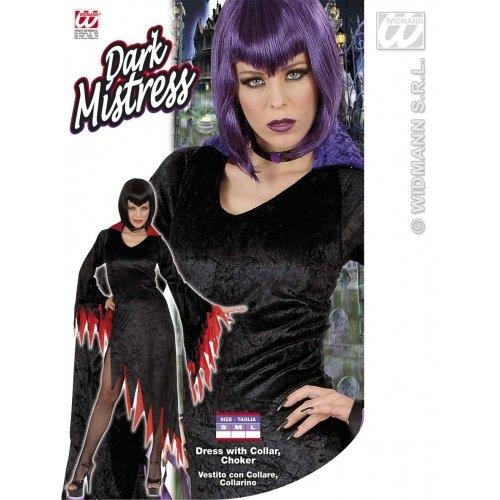 Dunkle Herrin Kostüm - Kostüm dunkle Herrin in lila Gr. L = 42