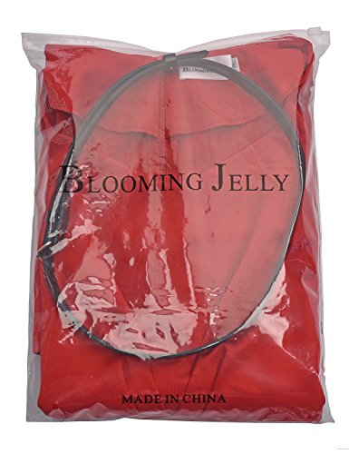 Blooming Jelly - Robe - Moulante - Uni - Manches 3/4 - Femme red