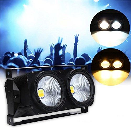 ACDGS Stadiums-Licht-weiße/warme weiße Zuschauer-Disco 200W DMX COB Par LED beleuchtet AC90V-245V ACDGS